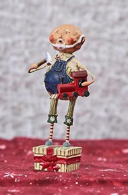 Lori Mitchell™ - Workshop Santa w Toy Train - Christmas Figurine 11017