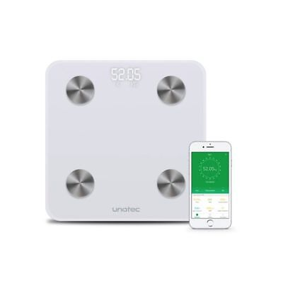 Smart Scale - Bascula inteligente con Bluetooth, blanco
