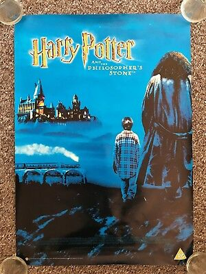 Harry Potter And The Philosopher's Stone A2 Original Store Promotional Poster A