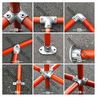 "Tube Clamps Handrail Fittings Size 3 / 42mm / 1'1/4"" NB / 42.4mm"