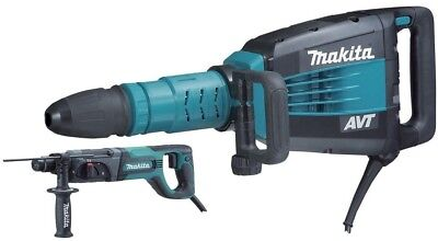Makita 14 Amp 27 lbs. AVT SDS-MAX Demolition Hammer with Free 1 in. SDS-Plus