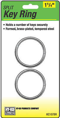 "2PK1-1/4""BRS Split Ring - Pack of 5"