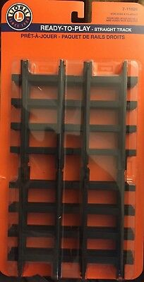 NEW Lionel Straight Train Track 7-11826 Set 12 Piece Fits Ready to Play