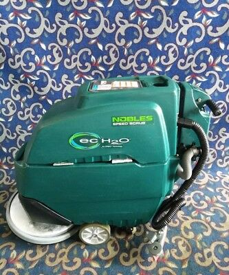 """Tennant Nobles Speed Scrub T3 20"""" floor scrubber NEW batteries & FREE shipping!"""