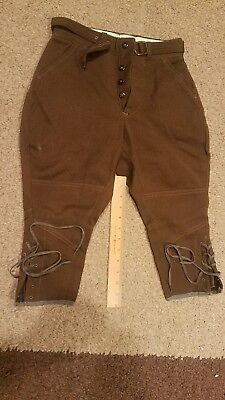 Vintage Boys 1800s? 19th century? Trousers Pants With Laces