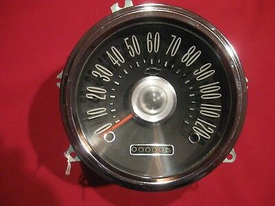 1959, 1960 CHEVY Impala Speedometer, Serviced, Reconditioned