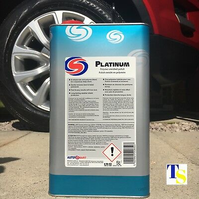 Autosmart Platinum 5 Litre 5L (Premium Wax Car Polish - rich shine TRADE)