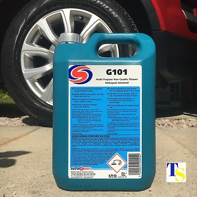 Autosmart G101 5 Litre 5L (Powerful Multi-Purpose non caustic cleaner INDUSTRIAL
