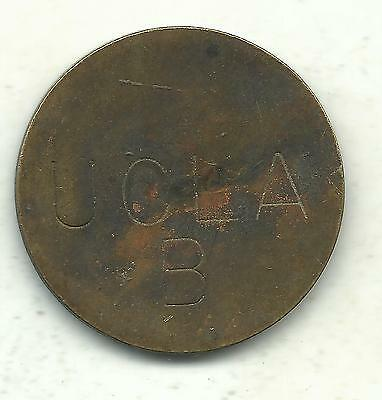 Very Nice Ucla Campus B Parking Token-California-Jul709