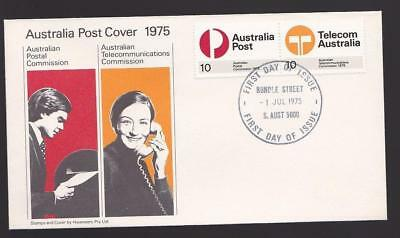 Australia 1975 First Day Cover FDC - New Postal & Telecommunications Commission