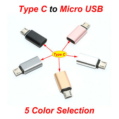 8pin female lightning iphone to Micro USB Adapter Cable Converter adapter LOT