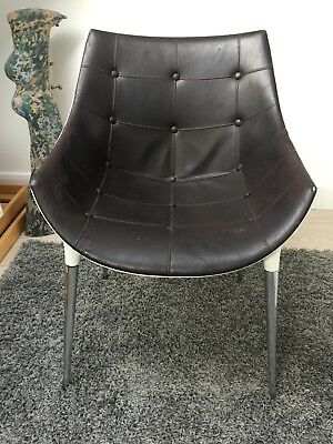 246 Passion Leather Chair by Philippe Starck Cassina