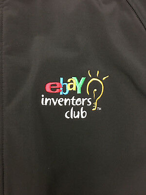 Black eBay Inventors Club Jacket (given to  employees) in size Large