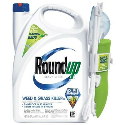 WEED AND GRASS KILLER Roundup Ready Тo Use Wand Garden Lawn Landscape Plants