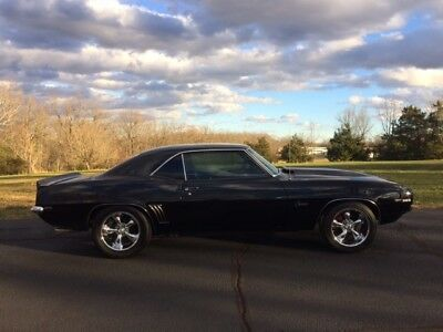 1969 Chevrolet Camaro SS 1969 TRUE SS CAMARO DOUBLE BLACK FULLY RESTORED
