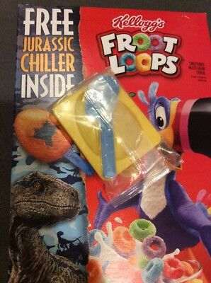 Jurassic Chiller From Froot Loops Cereal - Freeze Pop With Dinosaur Handle Only