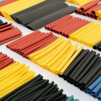 1 Set New 8 Sizes Waterproof  Heat Shrink Sleeve Tubing Tube Wire Cable Wrap