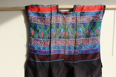 Collectible Authentic Guatemalan Huipil worn by Mayan Tribeswomen