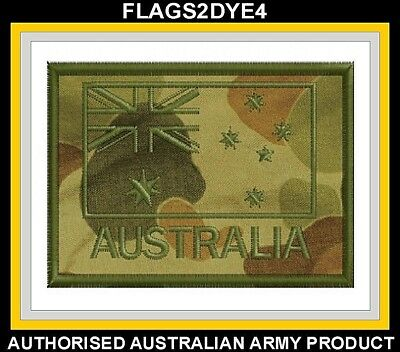 Australian ANF embroidered uniform cloth patch + FREE Lest we forget sticker #4