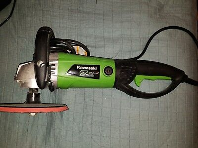 "Kawasaki 841992 12 Amp Variable Speed Sander and Polisher, 7"" Tool Only"