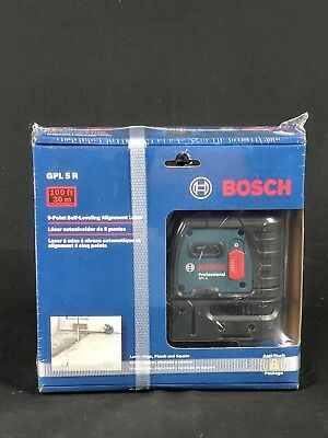 Bosch GPL5R 5-Point Self-leveling Alignment Laser FREE SHIPPING