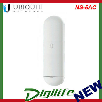 Ubiquiti 5 GHz NanoStation AC Radio -Up to 450+ Mbps Real TCP/IP Throughput