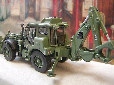 Jcb Backhoe (Hmee) High Mobility Engineer Military Diecast Model Scale 1/87