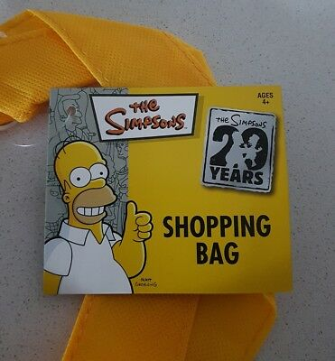 The Simpsons Shopping Tote Bag Brand New Rare Collectable 5