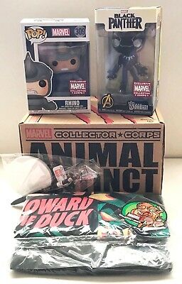 Marvel Collector Corps ANIMAL INSTINCT - Complete Box - Size XL -New