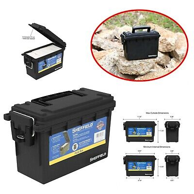 Ammo Can Storage Box Tactical Military Ammunition 30 Caliber Plastic Holder Case