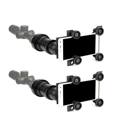 2X Rifle Scope Phone Mount Adapter for 38-48mm Eyepieces Spotting Scope Telescop