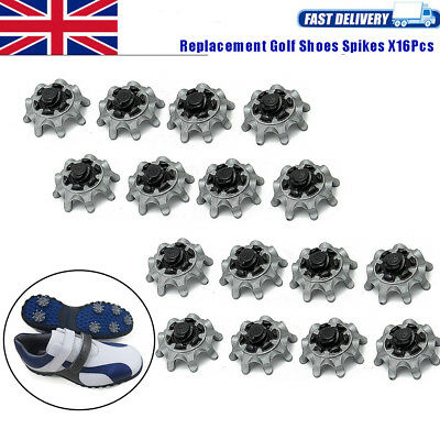 16X Replacement Golf Shoes Spikes Studs Tri-Lok Soft Fast Twist For Footjoy UK