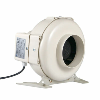 "5"" Centrifugal Inline Fan Hydroponics Inline Duct Vent Exhaust Blower 194CMF"