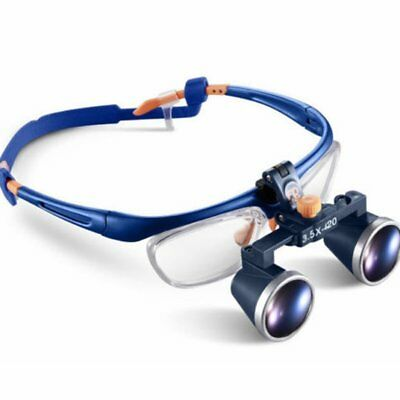3.5X420mm Dental Medical Binocular Galileo Frame Loupe Magnifier Glasses FD-503G