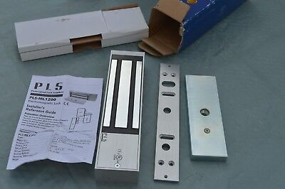 New!!! PLS Electromagnetic Lock, 1200Lb Holding Force, 12VDC/24VDC, PLS-ML1200