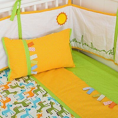 Cot Bedding Set 3PCS Cotton for Baby Boys Girls cot bed 14070cm  Baby Gift