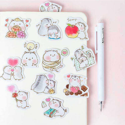 Cute Creative Self Adhesive Sticker Decoration Sticker Novelty Stickers PVC