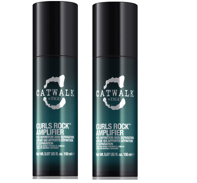 TIGI CATWALK CURLS ROCK AMPLIFIER FOR DEFINITION AND SEPARATION 150ml