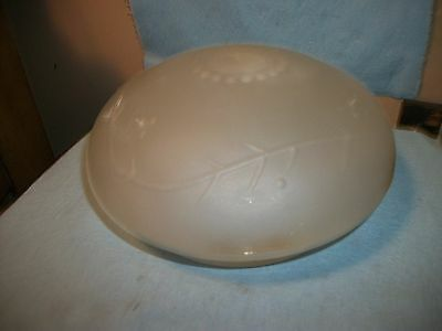 Vintage Frosted Glass Ceiling Light Fixture Lamp Shade Globe Cover Round