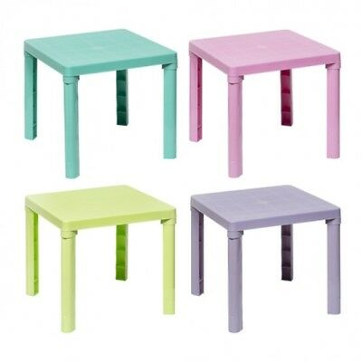 Edco High Quality Kids Children Plastic Table Home Garden Picnic by Plastic