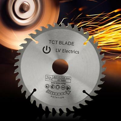 Silver TCT Circular Saw Blade for Wood Cutting 40/80 Teeth&Reduction Rings