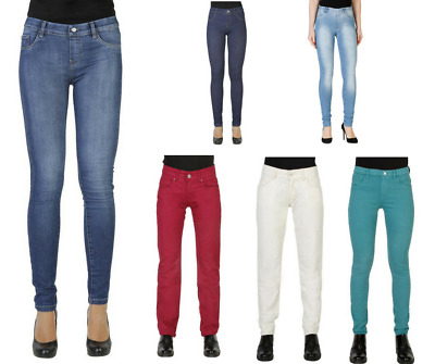 CARRERA JEANS Pantaloni donna jeans denim super stretch skinny fit 3 tasche  DD d5748ae9996