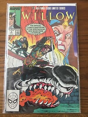 Willow #3 (1988) limited issue comic - LucasFilm movie adaptaion