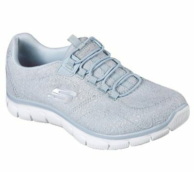 dca13ac4c192 NEW SKECHERS Women Sneakers Trainers Memory Foam EMPIRE-SPRING GLOW Blue