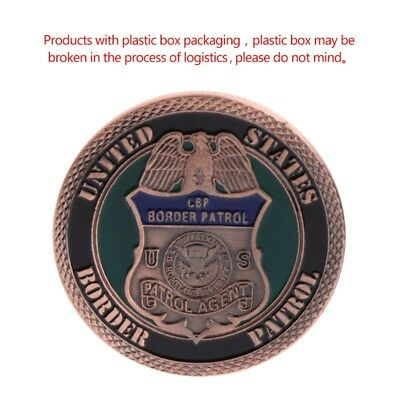 American Border Patrol Security Collection Commemorative Coin Arts Souvenir Gift