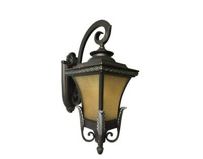 Traditional VERY Large Antique Outdoor wall light Lantern/Lamp Weatherproof