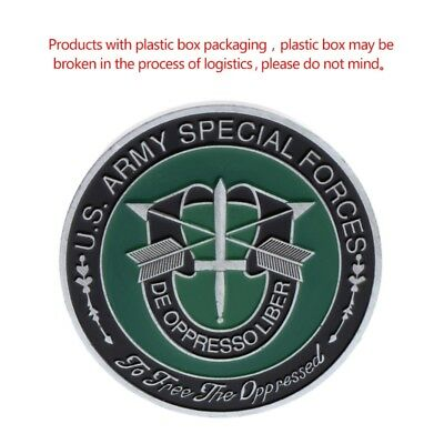 US American Army Special Forces Commemorative Coin Arts Souvenir Collection Gift