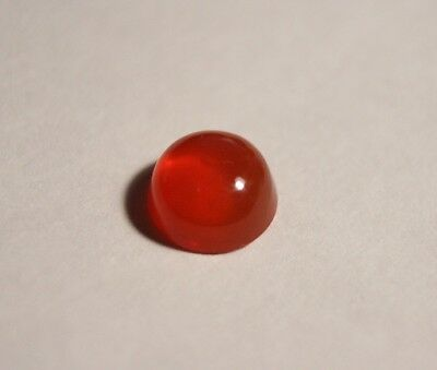1.56ct Mexican Fire Opal Cabochon - Orange / Red - Flawless