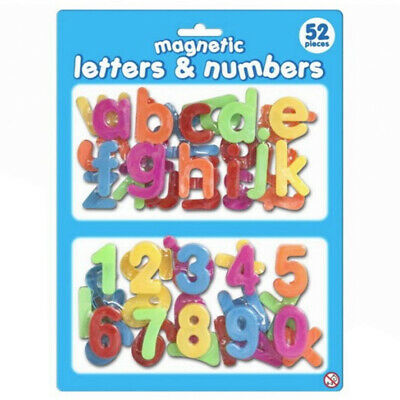 magnetic letter and numbers learning fridge magnets for children
