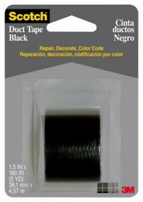 2inx20YD BLK Duct Tape by 3m Company